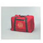 Gear Bag w/Firefighter Insignia, 13 1/2inch Deep x 16inch Wide x 24inch Long, Red