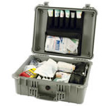 IV/Trauma Box w/Large Lid Insert, No Contents