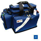 Trauma/Oxygen Deployment Bag, 23inch L x 13 1/2inch W x 14inch D, Royal Blue
