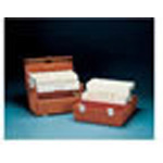 Flambeau Model 2272 Medical Box, 19 1/2inch L x 11 1/2inch W x 11 3/4inch D, Hard Plastic, Orange