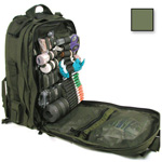 S.T.O.M.P. II Medical Backpack (Jumpable), Empty, 14inch x 21inch x 9inch, Olive Drab