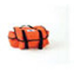 Reeves First Call Cab Bag, Shoulder Strap, Replaceable Vinyl Liner, 17in x 9in x 7in, Orange