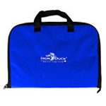 Laryngoscope Bag, 14inch L x 15inch W x 10inch H, Royal Blue