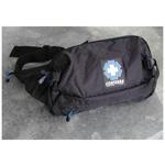 Patrol II Aid Belt, Empty, Fanny Pack,  15inch L x 4-1/2inch W x 9inch D, Black