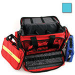 Large Advanced Life Support Case, 22inch L x 14inch W x 11inch H, w/Modules, Teal