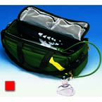 Rescue Bag, 1000 Denier Woven Nylon Cloth, Red