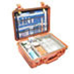 Pelican 1500EMS Case, 16.75inch x 11.18inch x 6.12inch, Orange w/Padded Dividers, EMS Insert