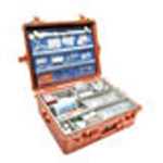 Pelican 1600EMS Case, 21.43inch x 16.50inch x 7.87inch, Orange w/EMS Organizer/Dividers