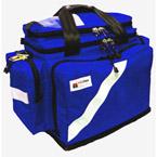 BLS Trauma Deployment System, 21inch L x 11 1/2inch W x 15inch D, Royal Blue, w/o Modules