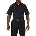 5.11 Men Stryke PDU Class A Shirt, Short Sleeve, Midnight Navy, SM/Short