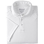 5.11 Men Performance Polo Shirt, Short Sleeve, White, XS