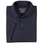 5.11 Men Performance Polo Shirt, Short Sleeve, Dark Navy, SM