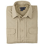 5.11 Men Taclite Pro Shirt, Short Sleeve, TDU Khaki, SM