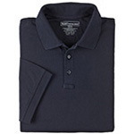 5.11 Men Tactical Polo Shirt, Short Sleeves Dark Navy, SM