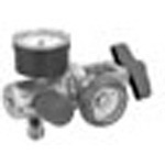 Easy Gauge Oxygen Regulator, Yoke Style (870), DISS Outlet, 0-15 LPM