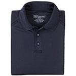 5.11 Men Performance Polo Shirts, Long Sleeve, Dark Navy, SM