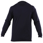 5.11 Men Professional Long Sleeve T Shirts, Fire Navy, XS