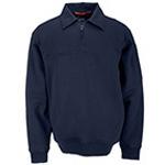 5.11 Men Job Shirt w/Canvas Details, Fire Navy, XS