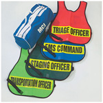Triage/Mass Casualty Vest Kit w/4 Vests