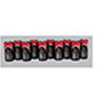 Duracell 10-Battery Set For Zoll AED Plus