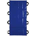 Transfer Sheet, 400 lb Capacity, 8 Handles, 32inch x 72inch, Blue