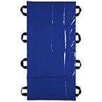 Transfer Sheet, 400 lb Capacity, 8 Handles, 55inch x 84inch, Blue