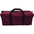 Cervical Collars Utility Duffel Bag, 25inch x 8inch x 15inch, Burgundy