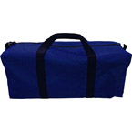 Cervical Collars Utility Duffel Bag, 25inch x 8inch x 15inch, Blue