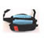 Fanny Pack, Black w/Red Reflective Stripe