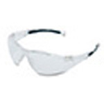 Sperian A800 Series Safety Glasses, Clear Frame, Clear Fog-Ban Lens