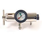 O2 Regulator, Spiracle, BravO2, Brass, 2 DISS, 0-25 LPM