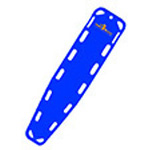 Base Board, 72inch x 16inch x 1 3/4 inch, Without Pins, Blue
