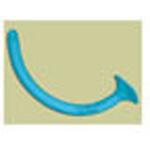 Robertazzi Nasopharyngeal Airways Kit, incl Sizes 20-32 w/Lubricating Jelly, Blue Latex