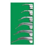 Laryngoscope Blade, American Profile MacIntosh, Fiber Optic, Size 1, Infant