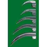 Laryngoscope Blade, English Profile MacIntosh, Fiber Optic, Size 4, Adult LG