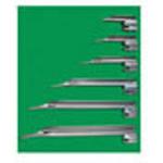 Laryngoscope Blade, German Profile Miller, Fiber Optic , Size 4, Adult LG