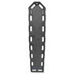 Pro-Eco Backboard, w/o Pins, 72inch x 16inch x 2 1/4inch, Black