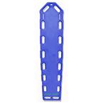 Pro-Eco Backboard, w/o Pins, 72inch x 16inch x 2 1/4inch, Blue