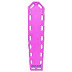 Pro-Eco Backboard, w/o Pins, 72inch x 16inch x 2 1/4inch, Pink*Discontinued*