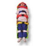 PEDI-LITE Backboard Kit, 48inch Long, Green