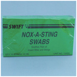 Nox-A-Sting Insect Sting Swab, 10/bx