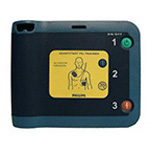 FRx Trainer, w/Case, Training Pads, for Heart-Start FRX Defibrillator
