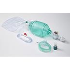 AirFlow BVM, Adult, Mask, Reservoir O2 Bag, Exhalation Filter, PEEP Valve, Manometer