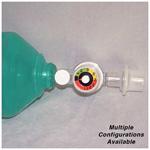 AirFlow BVM, Adult, Mask, Reservoir O2 Bag, Exhalation Filter, PEEP Valve, Strap, Fenem, Manometer