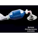 STAT-Check II Pediatric Inflatable BVM Resuscitation Bag w/O2 Bag Reservoir, Mask, Pop-off