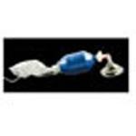 STAT-Check II Adult Inflatable BVM Resuscitation Bag w/O2 Reservoir, Mask