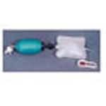 Resuscitator BVM, Inflatable Bag, O2 Reservoir, Manometer, Disposable, Pediatric