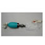 Resuscitator BVM, Inflatable Bag, O2 Reservoir, Manometer, Disposable, SM Child