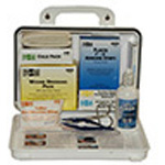 First Aid Kit, Pac-Kit, Plastic Case, 25 Person