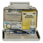 First-Aid Kit, Pac-Kit, Weatherproof Metal Case, 10 Person, 4.5 x 7.5 x 2.75inch
